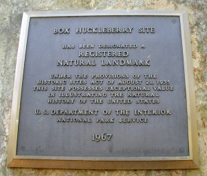 Registered Natural Landmark since 1967.