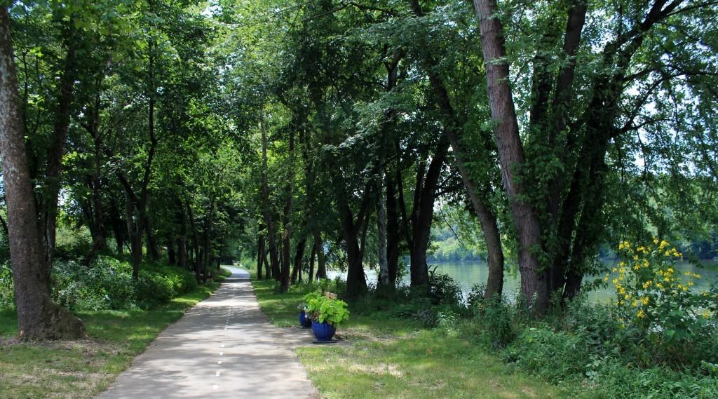 Walking Path at the Juniata River, PA